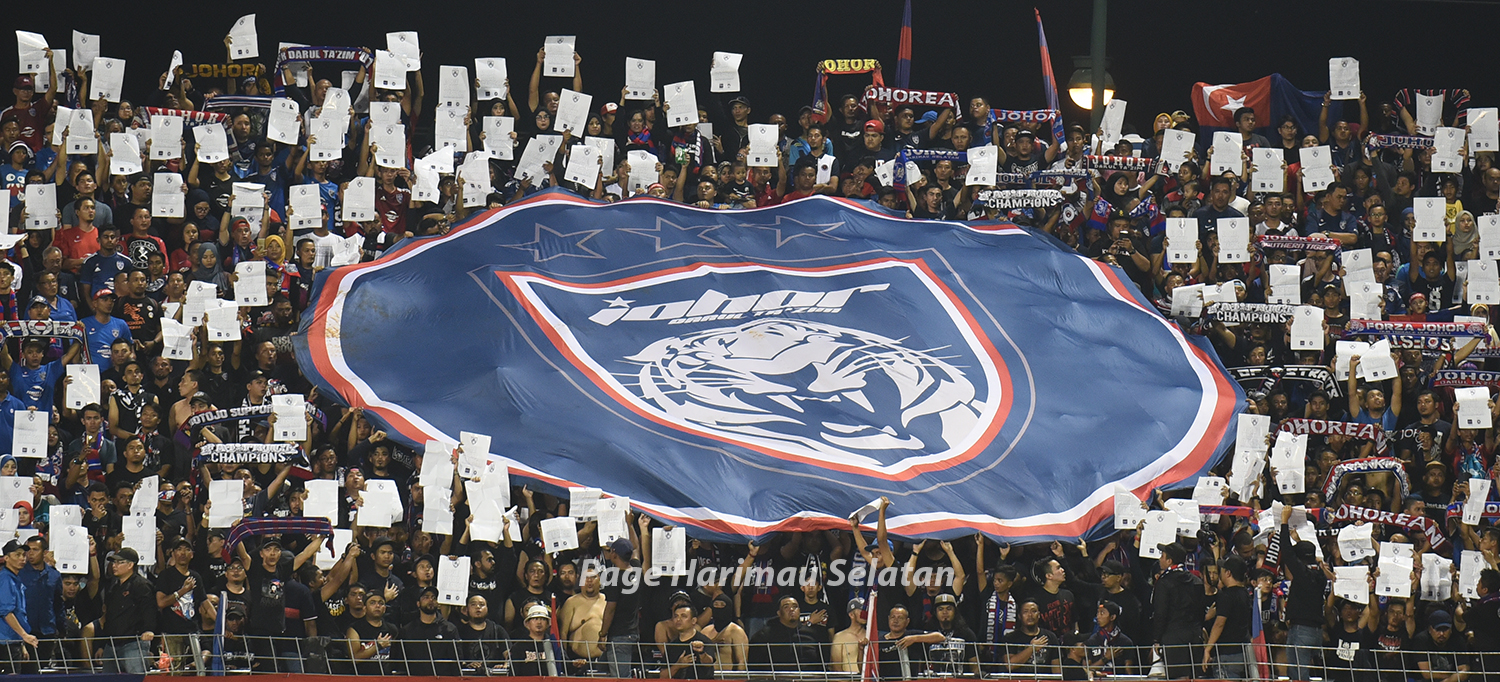 JDT LOGO AT LARKIN STADIUM